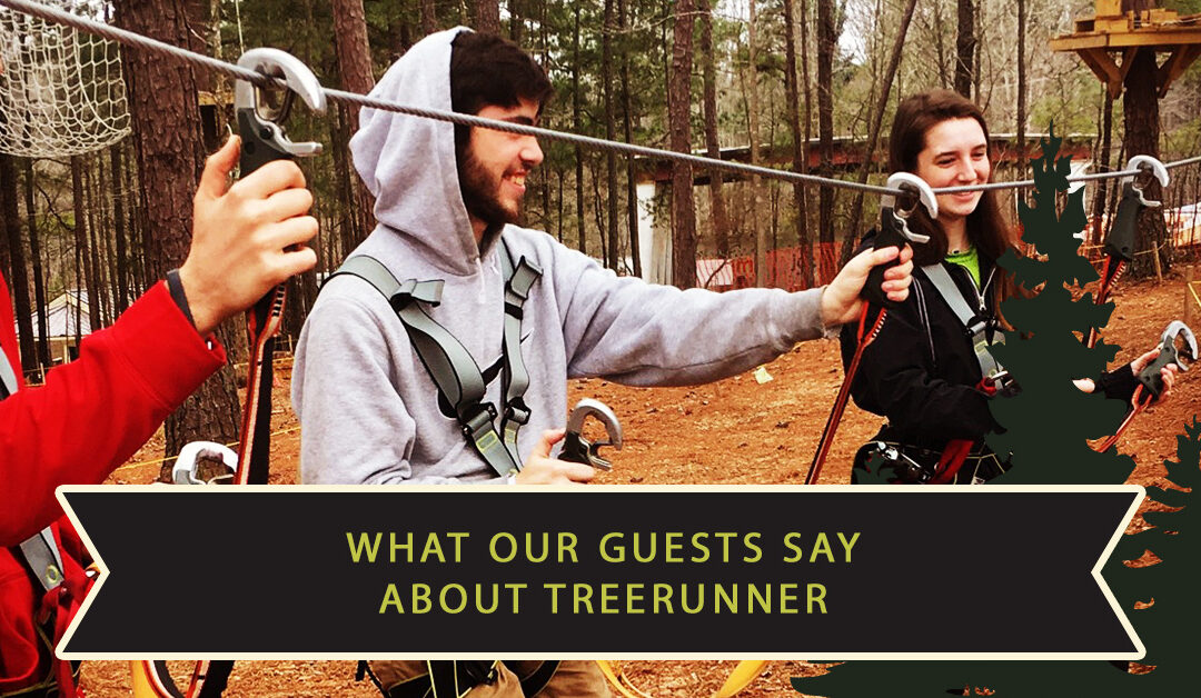 What Guests Are Saying About TreeRunner Raleigh Adventure Park