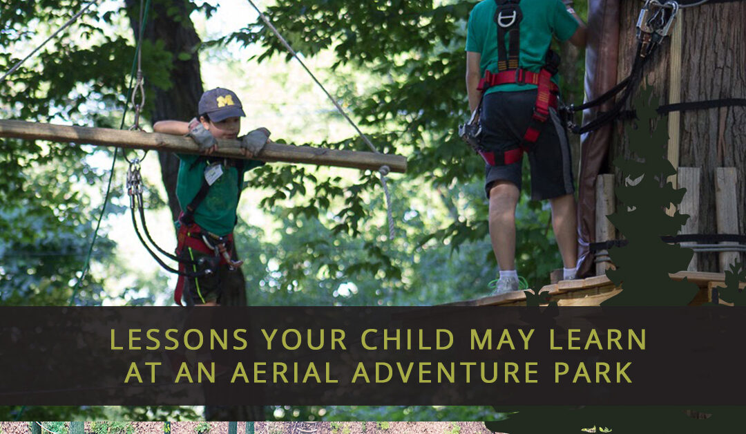 Lessons Your Child May Learn At An Aerial Adventure Park