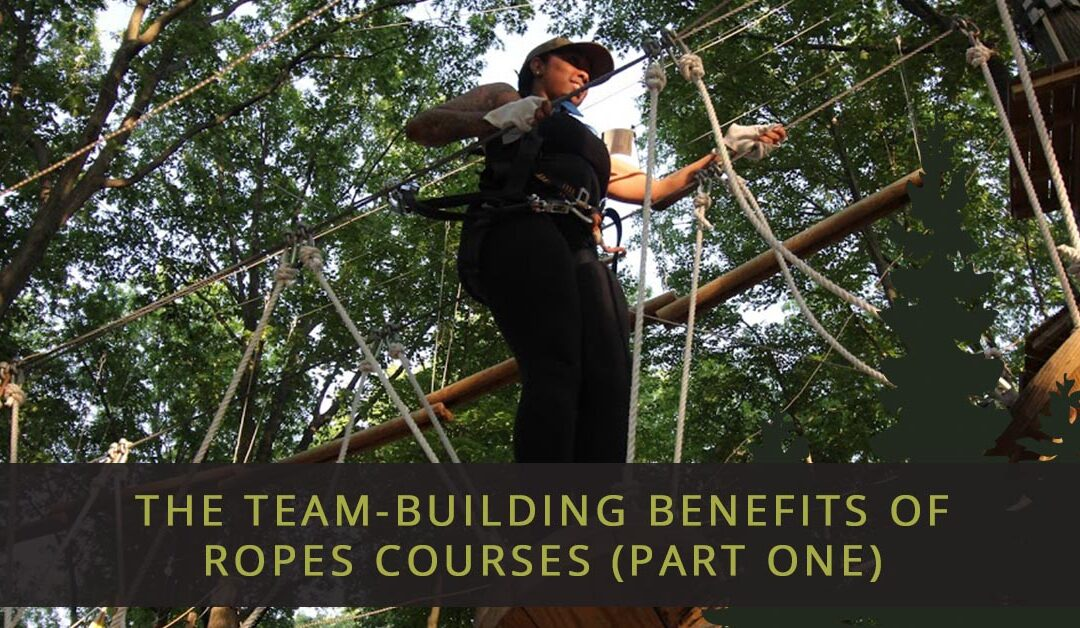 The Team-Building Benefits Of Ropes Courses, Part One