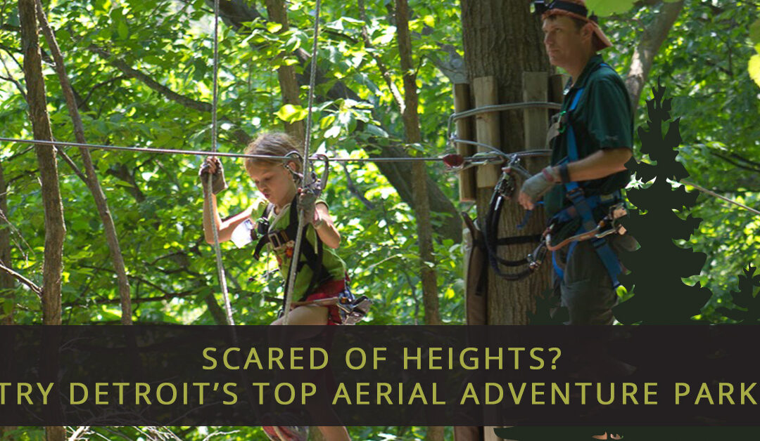 Scared Of Heights? Try Detroit's Top Aerial Adventure Park