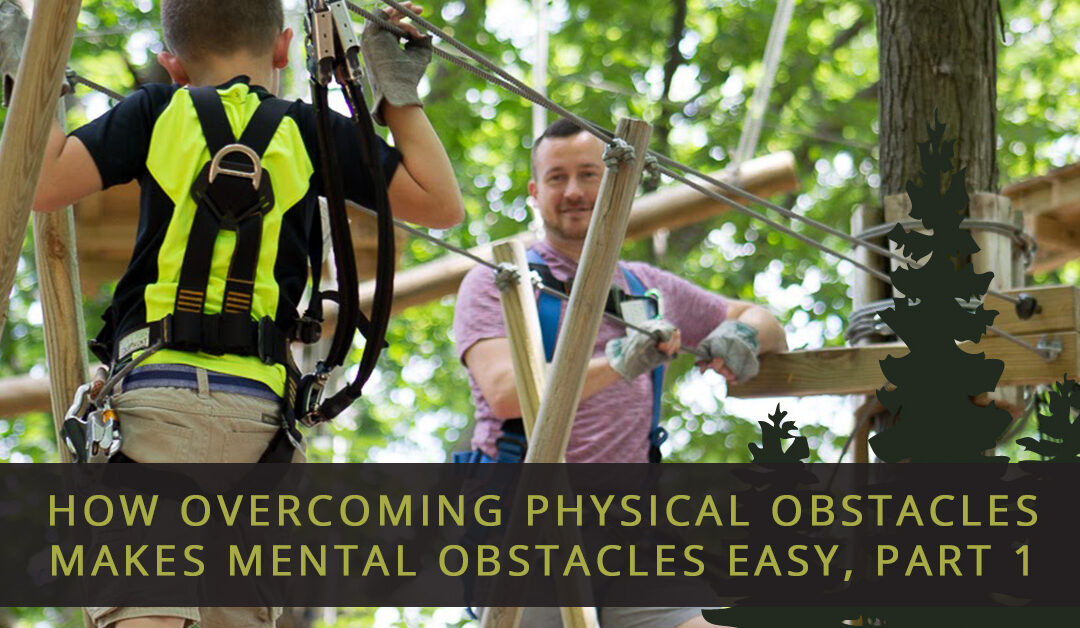 How Overcoming Physical Obstacles Makes Mental Obstacles Easy, Part 1